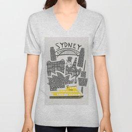 Sydney Cityscape Unisex V-Neck
