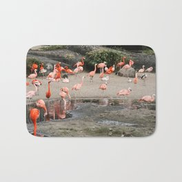 Flamingo Conference Bath Mat