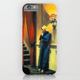 NEW YORK MOVIE - EDWARD HOPPER iPhone Case