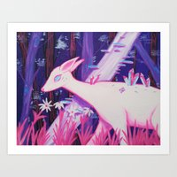Lilac Wood Art Print