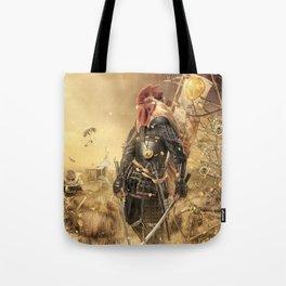 Fowl Samurai Tote Bag