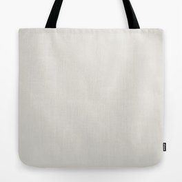 Sherwin Williams Trending Colors of 2019 Origami White (Off White) SW 7636 Solid Color Tote Bag