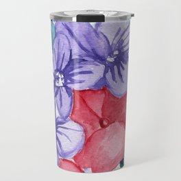 Summer Flower Pot Travel Mug