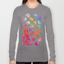 Cephalopod - pastel Long Sleeve T-shirt