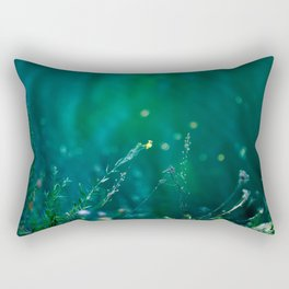 Fairy Tail - Flower on the Water - Magic Grass Rectangular Pillow