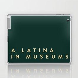 A Latina in Museums (box) Laptop & iPad Skin