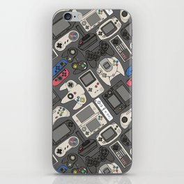 Video Game Controllers in True Colors iPhone Skin