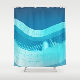 Getty Center LA Shower Curtain