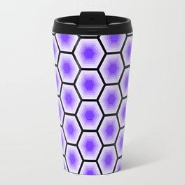 Violet Hexes Travel Mug