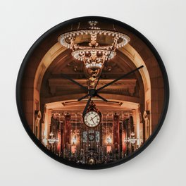 Union Station Christmas Wall Clock
