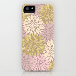 Pastel Petals Pattern iPhone Case