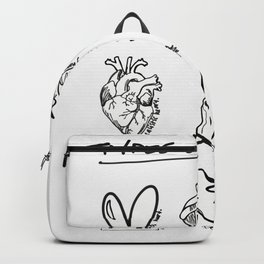 TYPES OF HEARTS Backpack