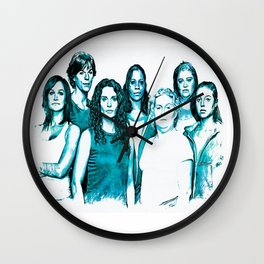Wentworth Inmates Wall Clock