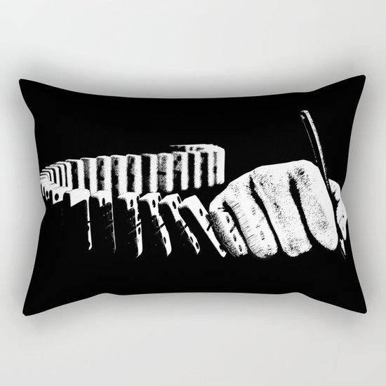 dominoes  Rectangular Pillow