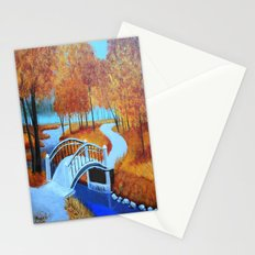 Autumn landscape 5 Stationery Cards