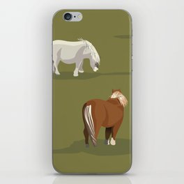 New Forest Miniature Ponies iPhone Skin