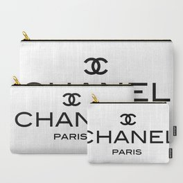White Paris Carry-All Pouch