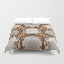 Delusions Of Grandeur - Vintage Inspired Collection Duvet Cover