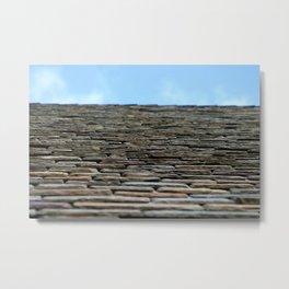 Roof Top Metal Print