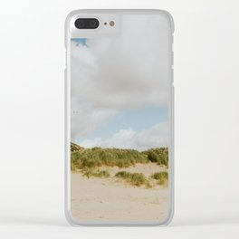 Barmouth beach North Wales Clear iPhone Case