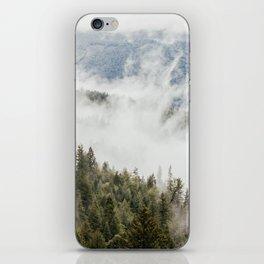 Mountain, Nature Photography, Wanderlust iPhone Skin