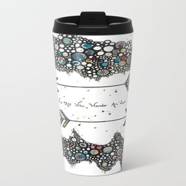 Not All Who Wander Are Lost Arrows Travel Mug