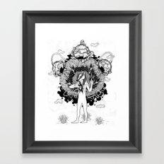 Groundwalker Framed Art Print