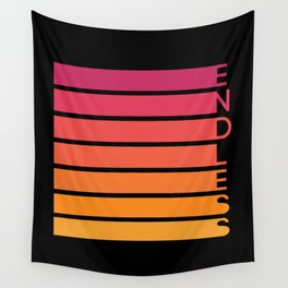 Endless Gradient Wall Tapestry