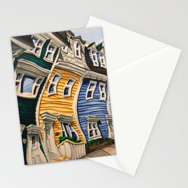Prescott Street (Rooftops) Stationery Cards