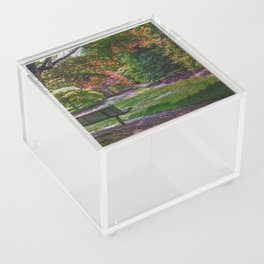 The Park Bench Acrylic Box