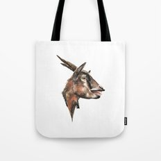 Salivating Goat Tote Bag