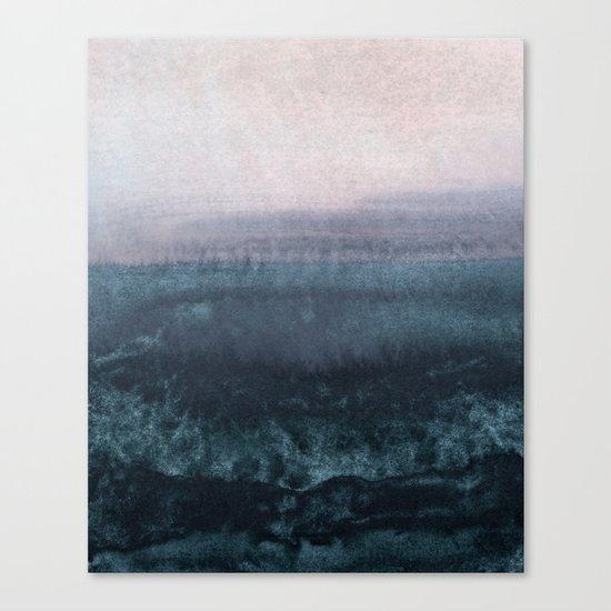 minimalist atmospheric landscape 1 Canvas Print