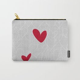 wild hearts grey Carry-All Pouch