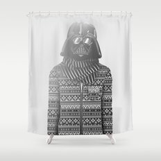 The Most Stylish Couple in Galactic 1 Shower Curtain