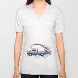 They see Me Ridin Bluth  Unisex V-Neck