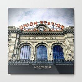 Union Station Denver Metal Print