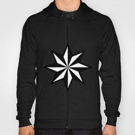 Star geometric retro shape vector graphic illustration design Hoody