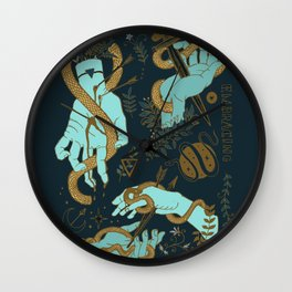 Hunger of the pine Wall Clock