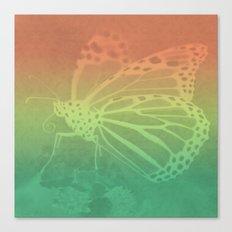 Gradient Monarch Canvas Print