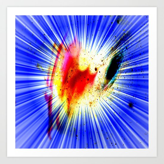Abstract 200 Art Print