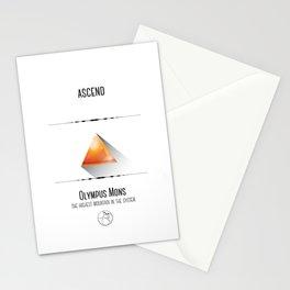 Travel Mars Stationery Cards