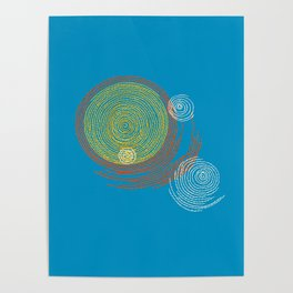 Stitches - Solar flare Poster