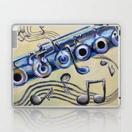 Flute Blues Laptop & iPad Skin