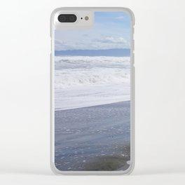 drift wood Clear iPhone Case