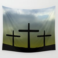 friday Wall Tapestries featuring Good friday by Pirmin Nohr