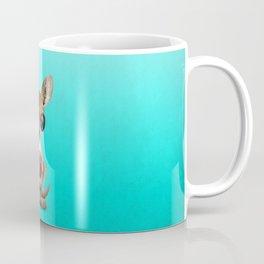 Baby Kangaroo Playing With Basketball Coffee Mug