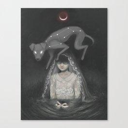Waning Mercury Canvas Print