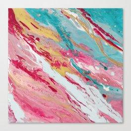 Spring coloured Canvas Print