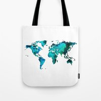maps Tote Bags featuring maps by StraySheep