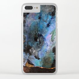 Space House Clear iPhone Case